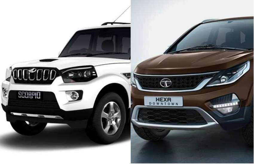 Tata Hexa Vs Mahindra Scorpio Comparison टाटा हेक्सा और