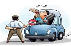 Police Action Against Drunker Wine In Bhadohi - शराब पीकर वाहन चलाने वालों  पर पुलिस का डंडा, 45 चालक शराब के नशे में मिले | Patrika News