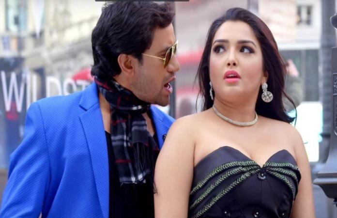 आम्रपाली ने अपने को-स्टार के साथ पार की शर्मिंदगी की सारी हदें, वीडियो तेजी से हो रहा वायरल