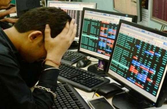Sensex breaks down 173 points as the rupee weakened in the stock market