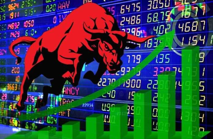 शेयर बाजार जबरदस्त बढ़त की ओर, सेंसेक्स में 400 से ज्यादा अंकों की बढ़त, निफ्ठी 12150 अंकों के पार