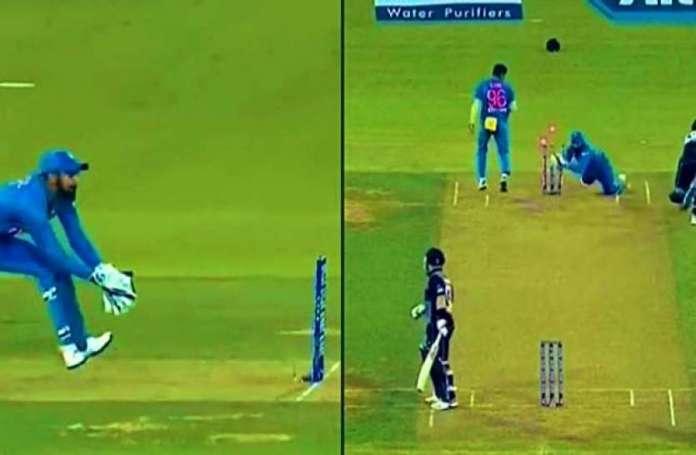 केएल राहुल टीम इंडिया के अगले 'धोनी', मैदान पर किया गजब का रनआउट