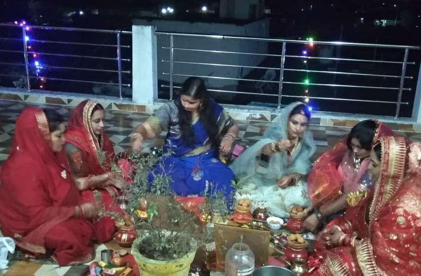 Suhagin women worshiped Karva Chauth to attain unbroken good fortune and prosper prosperity