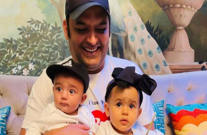 Kapil Sharma shares first glimpse of his son Trishaan