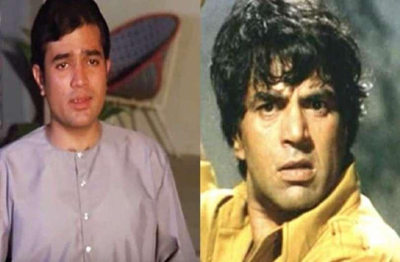 Dharmendra was upset Hrishikesh Mukherjee for casting Rajesh Khanna