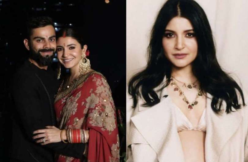 Anushka Sharma wears necklace not mangalsutra in her neck
