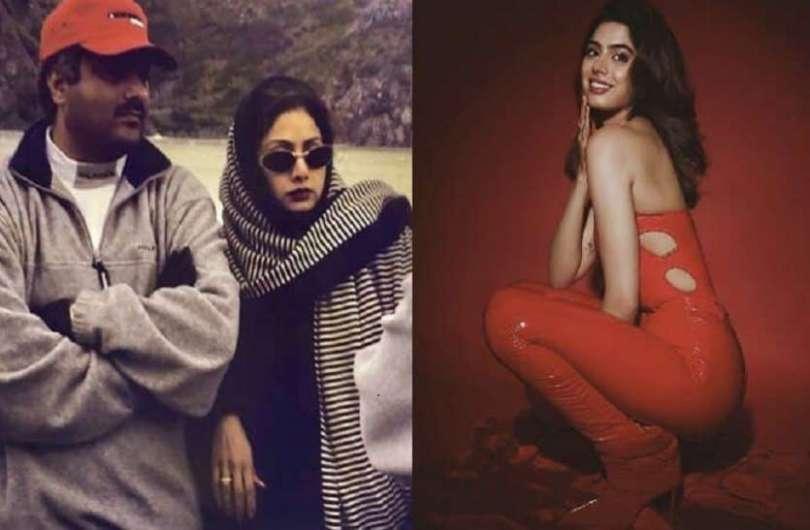 Khushi Kapoor shares vintage photo of Mom Sridevi and Dad Boney Kapoor