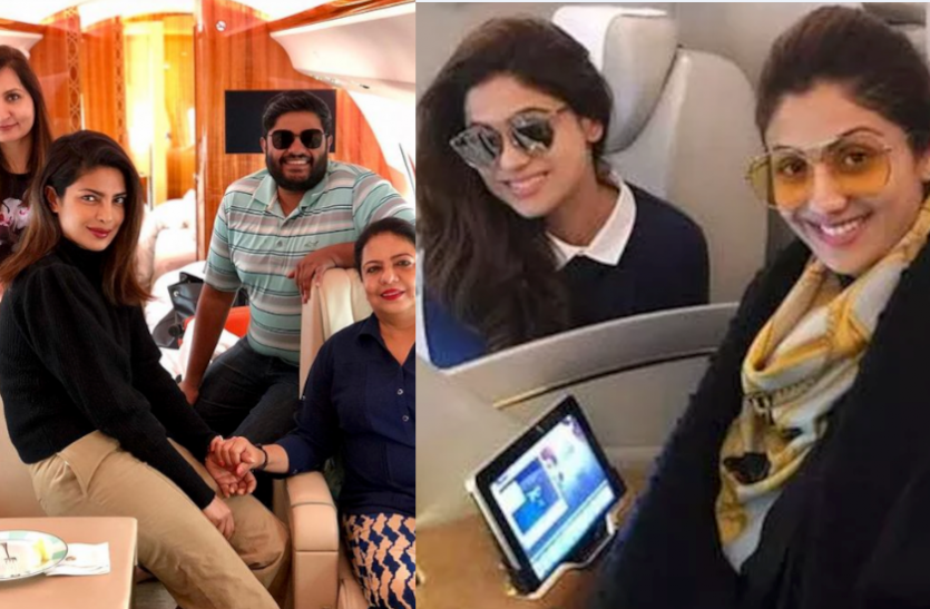5 Bollywood Stars Who Own Lavish Private Jets, See Inside Photos  What is the matter'
