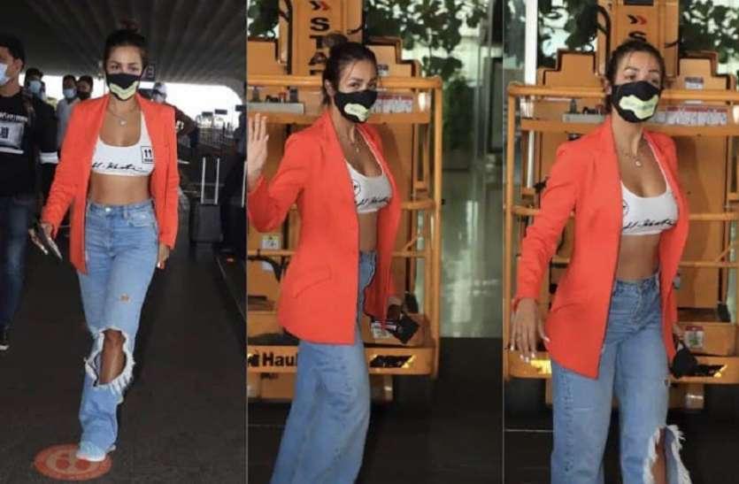 Malika Arora Spot In glamorous outfit photos goes viral