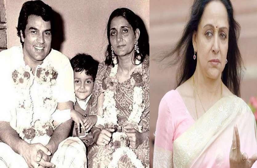 Hema Malini says about dharmendra first wife prakash kaur