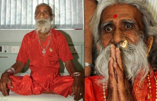 amazing human in India