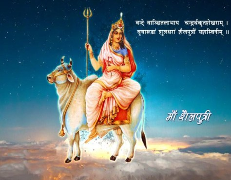 Image result for first day shailputri