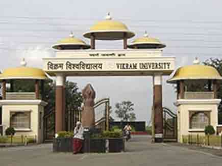Vikram University Exam Schedule