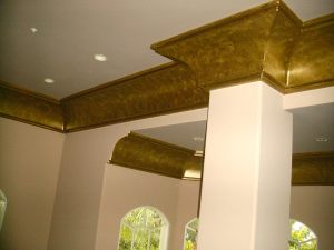 Antique bronze metallic paint