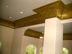 Antique bronze metallic paint
