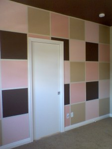 Multi-color Nursery Wall
