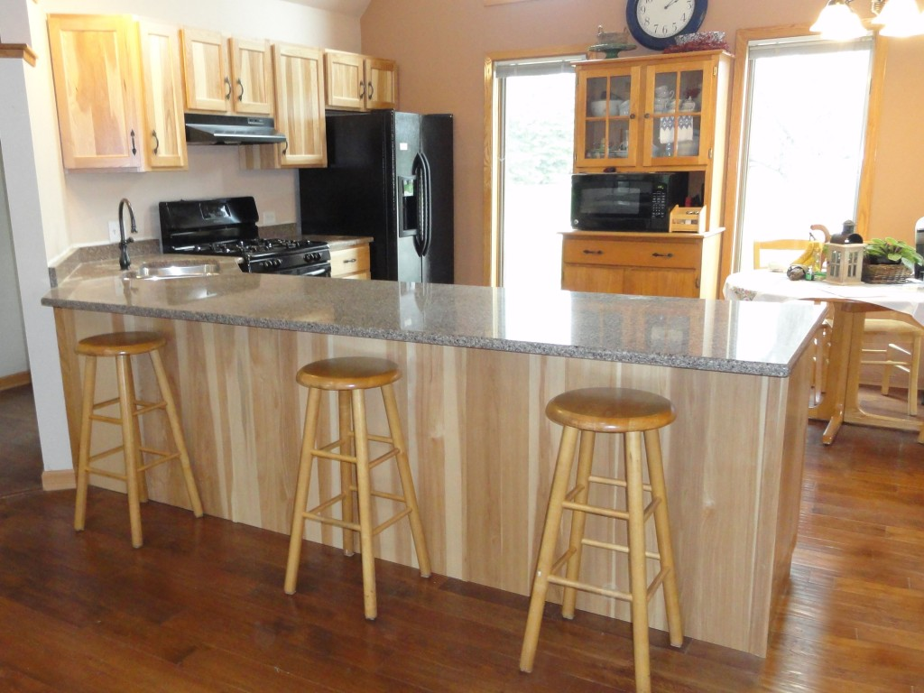 hickory shaker style kitchen cabinets crystal island lighting main affordable cabinet refacing nu look kitchens