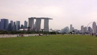 マリーナベイサンズとシンガポール市内