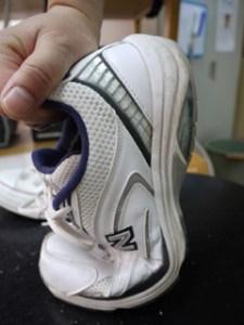 確りした靴