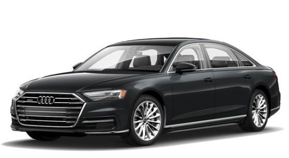 2021 Audi A8 with new exterior