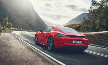 2021 Porsche 718 Cayman Powered with new engine
