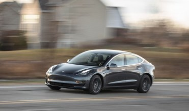 2021 Tesla Model 3 Powered by Electric engine