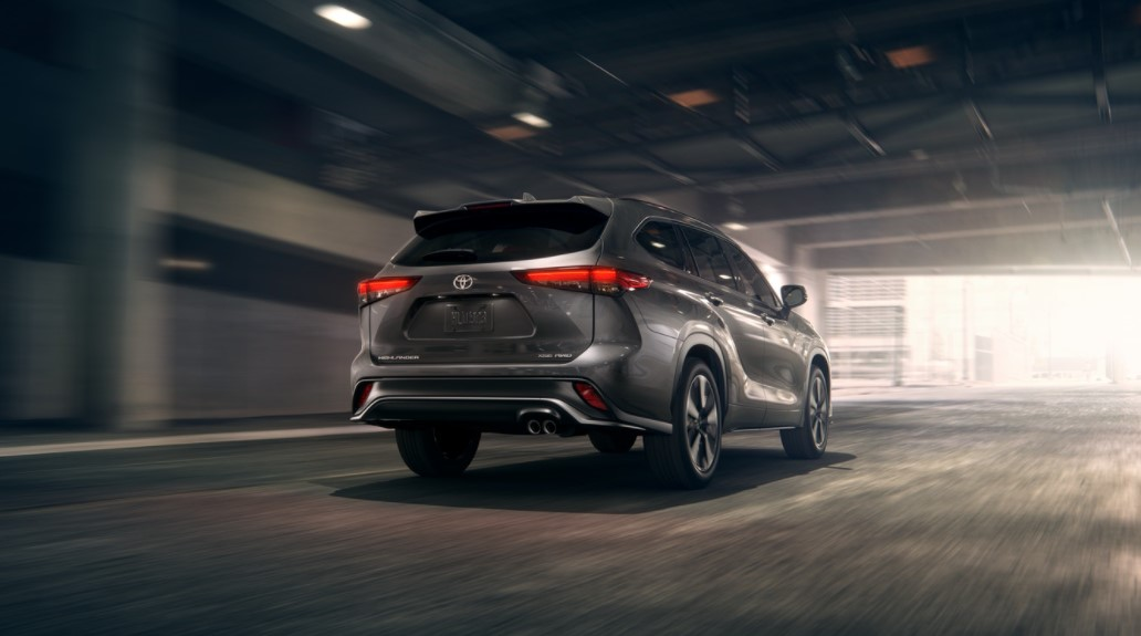 2021 Toyota Highlander has more power with new engine system