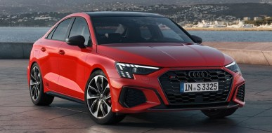 2022 Audi S3 with new exterior