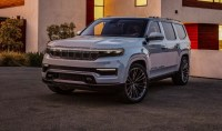 2022 Jeep Grand Wagoneer with new exterior
