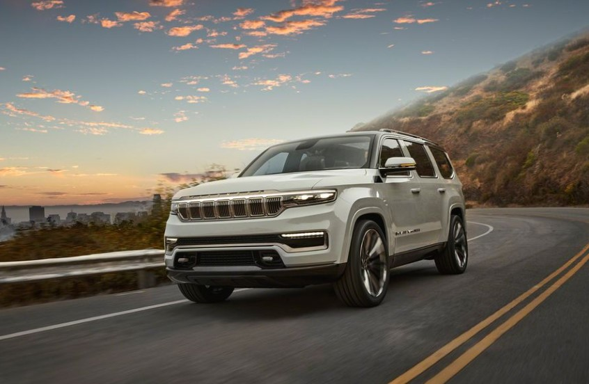 2022 Jeep Wagoneer powered with new engine