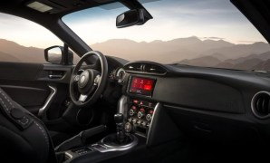 2022 Toyota 86 with new interior concept