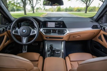 2021 BMW 4-Series Navigation and Infotainment