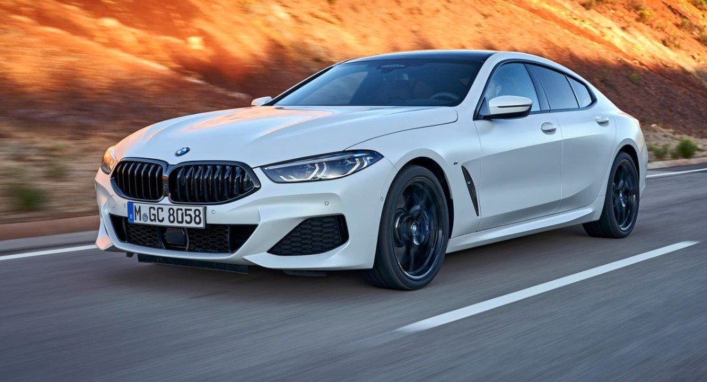 2021 BMW 8-series Gran Coupe has more power with its new engine