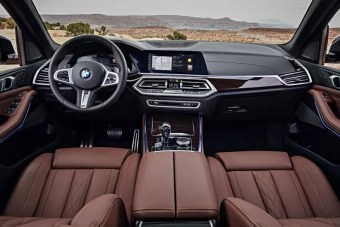 2021 BMW X5 Interior and Navigation