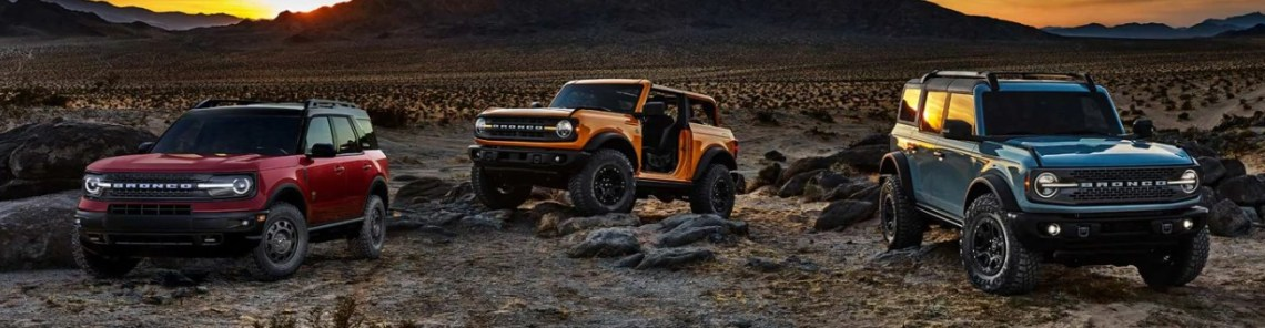 2021 Ford Bronco Official Preview