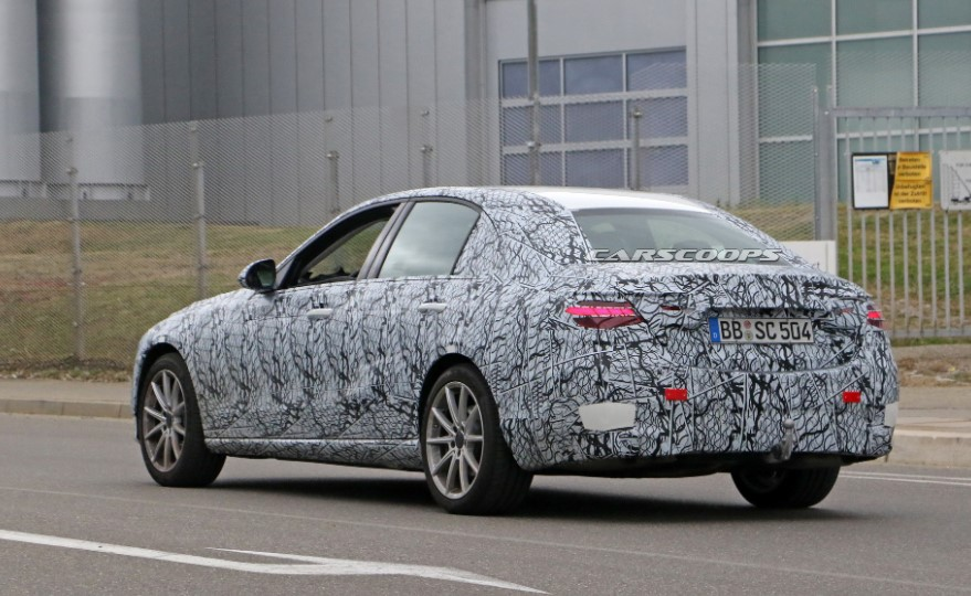 2021 Mercedes Benz C-class Spy Shots