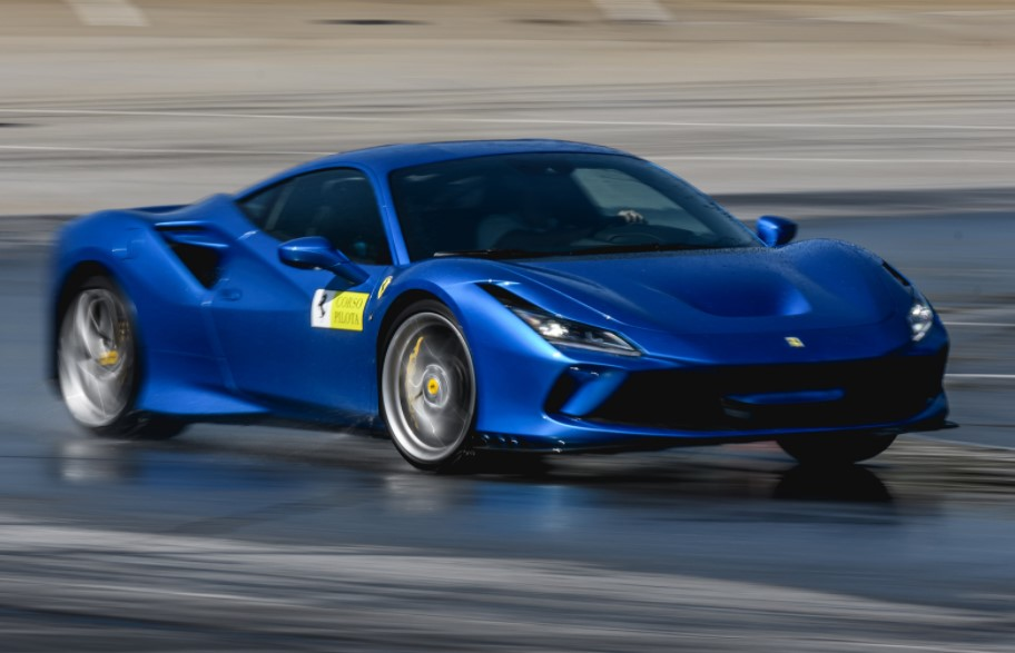 2020 Ferrari F8 powered with new engine
