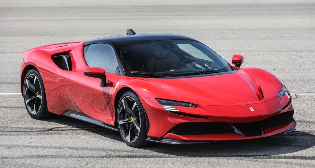 2021 Ferrari SF90 Stradale with new exterior