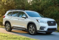2021 Subaru Ascent New Exterior Design
