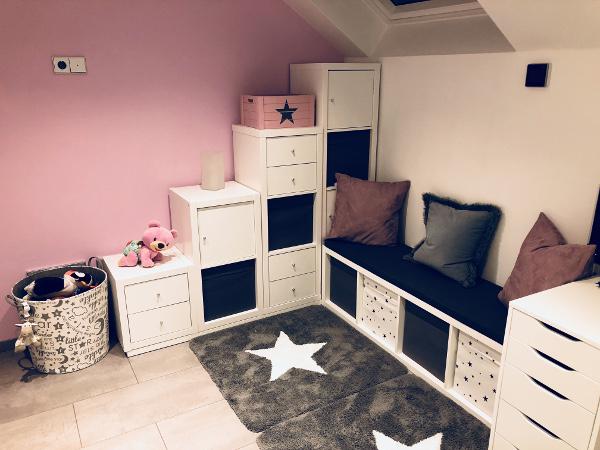 Geniale Ikea Kallax EckLsung fr das Kinderzimmer  New