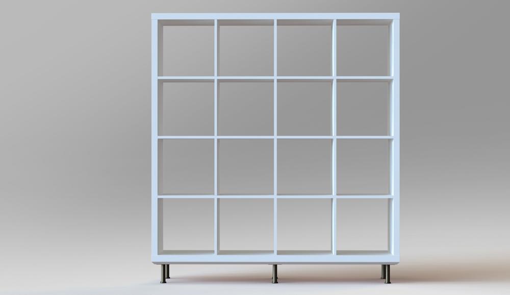 Wow So stylish kann das Ikea Kallax Regal sein  New