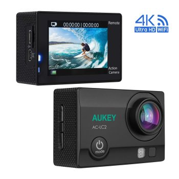 Aukey Action Cam 4K Ultra HD