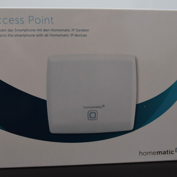 Access Point Verpackung - eQ-3 Homematic IP Starter Set Raumklima