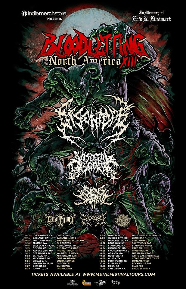 美國賓夕法尼亞州死核樂團 Signs Of The Swarm 釋出新曲影音 Malevolent Enslavement 2