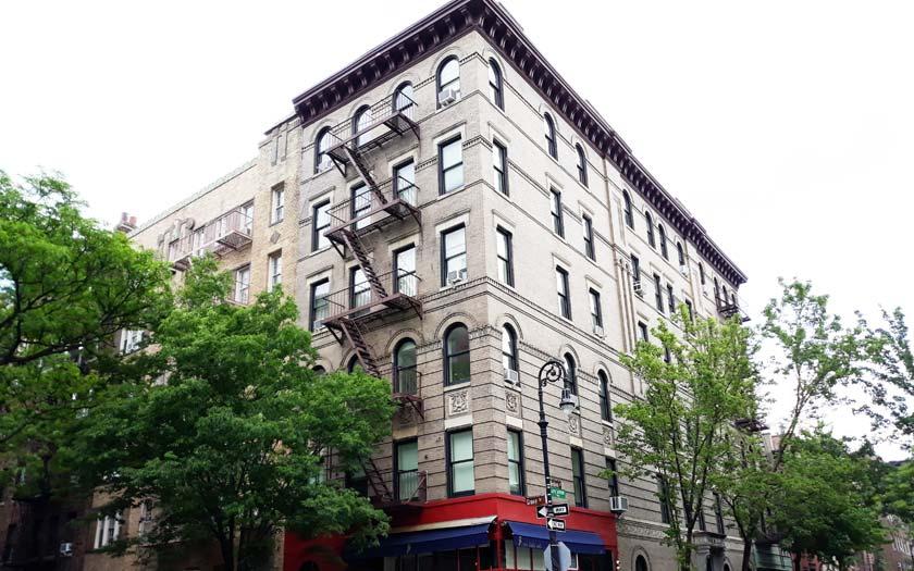 Haus der Serie Friends in New York (Bild: Jürgen Kroder)