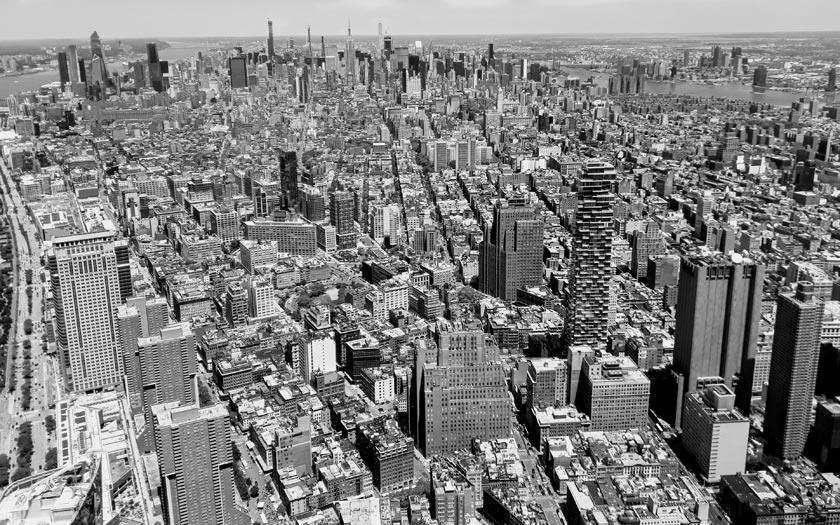 Skurrile verrückte aussergewoehnliche Hochhäuser und Wolkenkratzer in New York Manhattan (Bild: Jürgen Kroder)