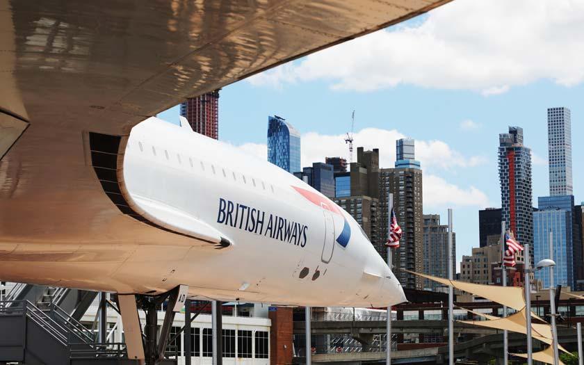 Concorde im USS Intrepid Sea Air Space Museum in New York (Bild: Shutterstock)