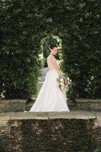 Angela Womack Bay Area. Bridal updo.