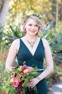 Bridesmaid Makeup and Hair
