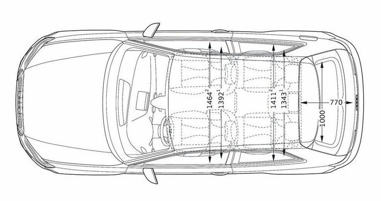 Coffre Audi Q5. der audi q5 setzt auf mehr platz im